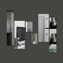 Espelho Decorativo Em Retângulos, Monte O Seu!