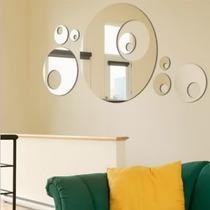 Bolas Decorativas Espelho Para Sala Jantar 100x50cm