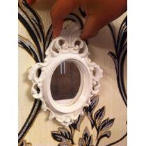 Espelho Resina Provençal Branco