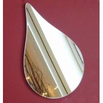 Espelho Decorativo Para Banheiro Formato Gota 30x20cm