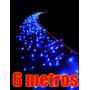 Cascata Pisca Pisca Led Azul 400 Lampadas Natal Decoracao