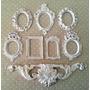 Kit 7 Espelhos / Molduras Estilo Ouro Provençal