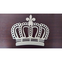 Coroa Em Mdf Estilo Provençal Mdf 6mm