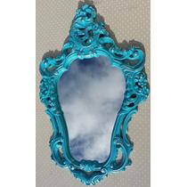 Espelho Veneziano Provençal Para Parede Sala Vintage