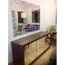Espelho Bisote Decorado Para Sala Jantar