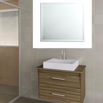 Espelho Bisote 40 X 40 Cm - Kit 8 Espelhos Banheiro Promoção