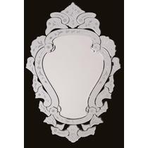 Espelho Veneziano Grande Bisotado Decorativo Retrô Barato !!