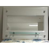 Porta Shampoo Com Prateleira E Espelho - Shaft