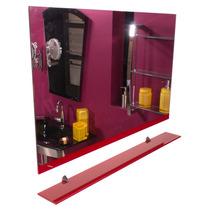 Espelho E Prateleira (55 Cm X 86cm) - Pádua