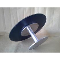 Espelho Redondo Aluminio Porta Toalhas Sem Uso Alta Qualidad