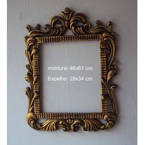 Moldura Ramada Para Espelho De Parede (interno: 30 X 35 Cm)