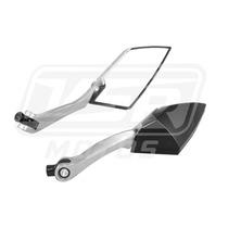 Espelho Retrovisor Preto Biz Cg 125 150 Bros Twister Gsr Nx