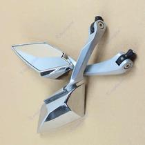 Retrovisor Moto Aluminio Luxo Tipo Tomok Rizoma Hornet Xt660