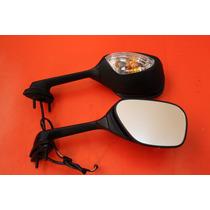 Espelho Retrovisor Com Piscas Suzuki - Gsxr 750 / 1000