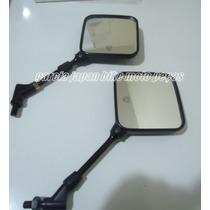 Retrovisor Xt600e Tenere Lente Convexa O Par ( Rosca Yamaha