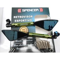 Retrovisor Spencer Tipo Koso Tomok 2 Rizona Cor Verde 18155