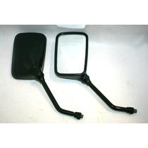 Espelho Retrovisor Preto Quadrado V-strom 650 Dl 1000