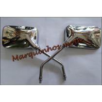 Par Retrovisor Twister Cbx 250 Cromado Gvs Cod 0185/0186
