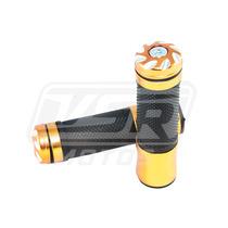 Manopla Esportiva Dourada Anodizada Curta Cbx250 Twister