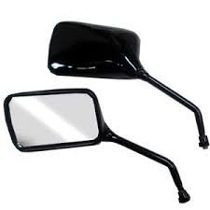 Espelho Retrovisor Mini Preto Honda Cbx 250 Twister (560)