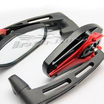 Espelho Retrovisor Esportivo Moto Universal Naked Vermelho