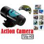 Camera Mini Dvr Esportes Radicais A Prova Dágua + 8gb