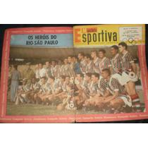 Manchete Esportiva - Fluminense Campeão Invicto Rio Sp 1957
