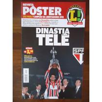 São Paulo Bi Libertadores 1993 Revista Poster Placar