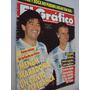 Revista El Gráfico 3642 1989 Seleção Argentina