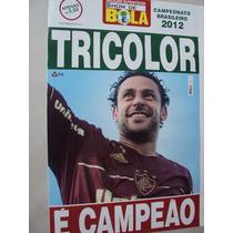 Revista Poster Fluminense Campeão Brasileiro 2012 Sh