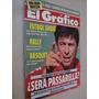 Revista El Gráfico 3695 1990 Seleção Argentina; Fillol