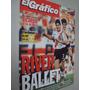 Revista El Gráfico 4024 1996 Chile Vs Uruguay