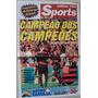 Revista Poster Flamengo Campeão Copa Dos Campeões 2001 Js