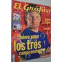 Revista El Gráfico 4230 2000 Talleres; Palermo; Francescoli