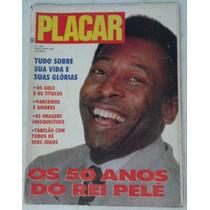 Revista Placar Nº 1053 De 23-10-90 50 Anos Do Rei Pelé