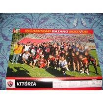 Poster Placar Vitória Campeão Baiano 2008