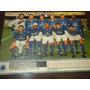 Poster Cruzeiro Tricampeão Mineiro 1998 21x27 Cm Placar