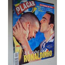 Revista Placar 1140 1998 Poster Seleção Brasil