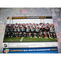 Poster Placar Ceará Campeão Cearense 2011