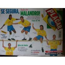 Revista Placar N- 1123 Poster Gremio Bi Campeao Brasileiro