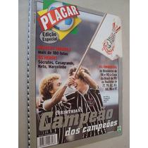 Revista Placar Especial 1999 1 Corinthians Campeão Dos Campe
