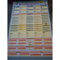 Tabela Taça Libertadores Da América 1997 Revista Placar