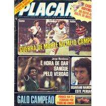 Placar Nº 464 - 16.03.79 - Pôster Do Grêmio Porto Alegrense