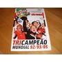 +m+ Poster Gigante São Paulo Campeão Mundial 2005 Placar