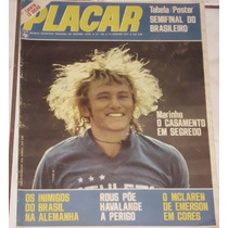 Revista Placar Nº 199 - Jan/1974 - Tabela Brasileiro
