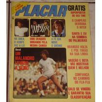 Revista Placar Nº 394 - Nov/1977 -pôster Corinthians Campeão