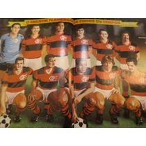 Poster O Melhor Flamengo De Todos Os Tempos Zico Zizinho Leo