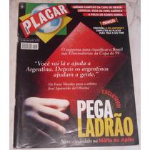 Revista Placar Nº 1128 - Jun/1997 - Pôster Bebeto / Grêmio