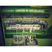 Lote Revista Palmeiras Ed: 16 E 17 + Poster Copa Do Brasil