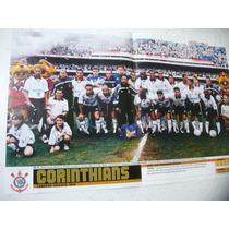 Poster Corinthians Campeão Paulista 1999 Placar Frete Gratis